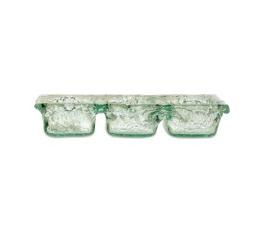 Pomeroy   Ruffle Glass Triple Server $37.00