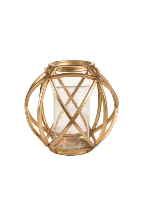 Napa Home & Garden   8 inch Gold Lantern $48.00