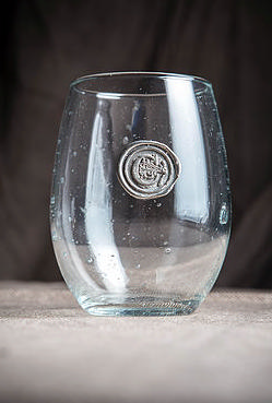 $18.00 Monogram Stemless Wine