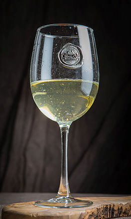 Southern Jubilee   Monogram Wine Glass $18.00