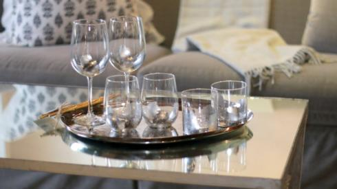 Silver Leaf Stemless Wine collection with 1 products
