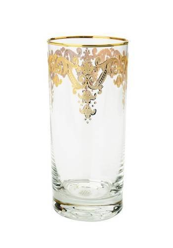Generations Exclusives  Glassware Victorian Gold Highball $40.00