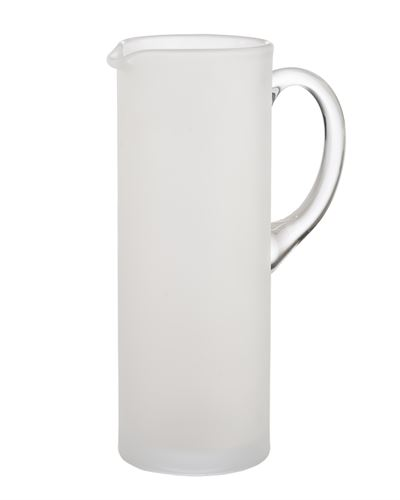 $55.00 Frosted and Clear Martini Pitcher w/ Stirrer