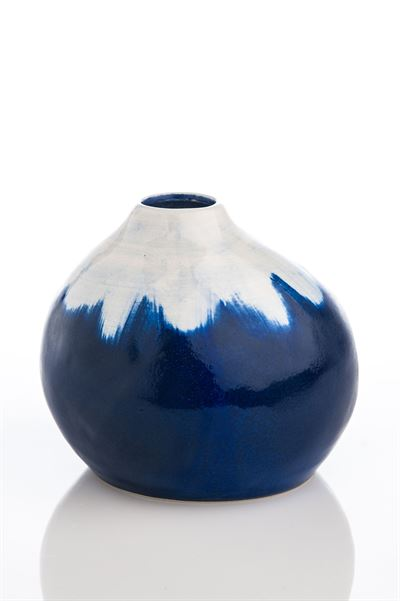 Indigo & White Vase collection with 1 products
