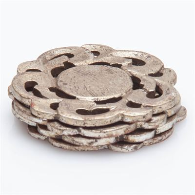 Provence Coasters, Antiqued Silver Finish, Set of 4 collection with 1 products