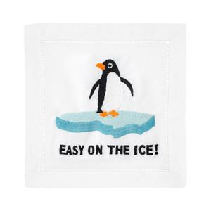 $40.00 Easy on the Ice Cocktail Napkins