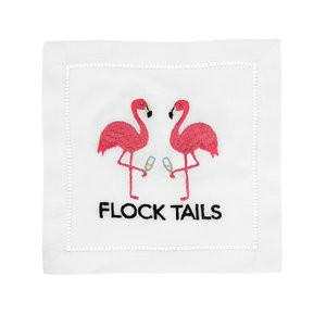 Flock Tails Flamingo Cocktail Napkins collection with 1 products