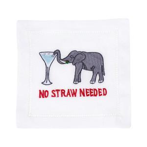 $40.00 No Straw Needed Cocktail Napkins