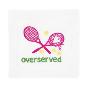 Overserved Tennis Cocktail Napkins collection with 1 products