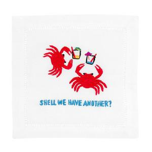Shell We Have Another? Crab Cocktail Napkins collection with 1 products