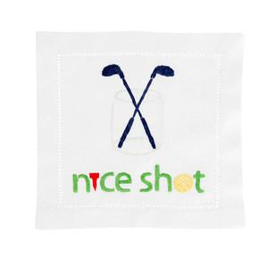 Nice Shot Golf Cocktail Napkins collection with 1 products