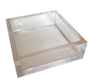 Lucite Cocktail Napkin Holder collection with 1 products