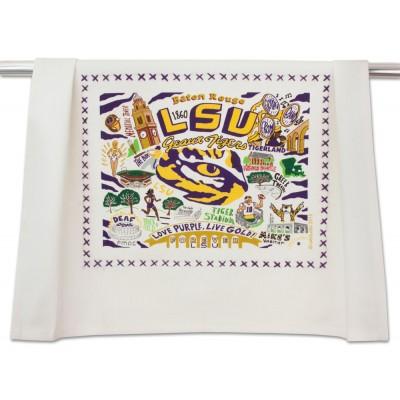 Catstudio   LSU Dish Towel $20.00