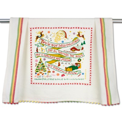 Night Before Christmas Dish Towel collection with 1 products