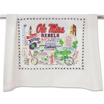 Catstudio   Ole Miss Dish Towel $20.00