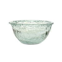 Pomeroy   Ruffle Glass Deep Bowl $50.00