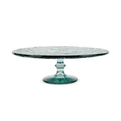 $65.00 Ruffle Glass Cake Stand