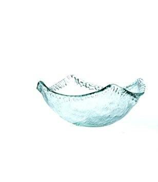 Shiraleah   Recycled Glass Large Squared Bowl $45.00