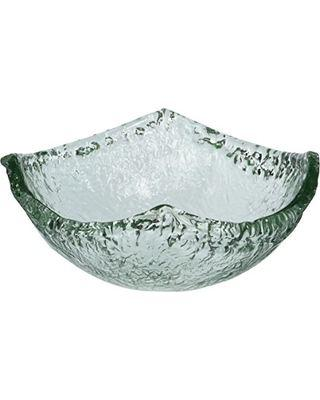 Shiraleah   Recycled Glass Small Squared Bowl $22.00