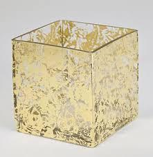 $43.00 4 inch Wabi Sabi Glass Cube Vase