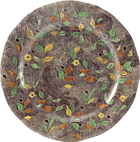 Dinner Plate, Foliage <br>(1 in stock)