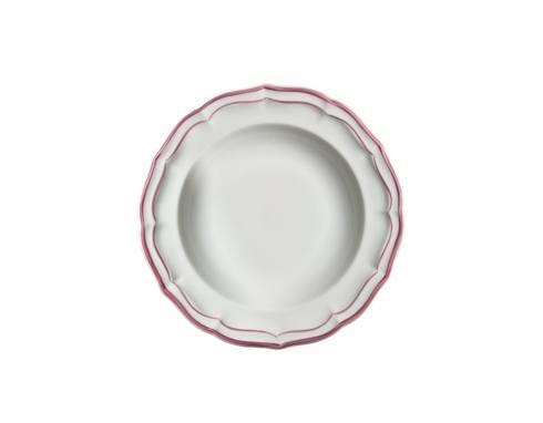 Gien filet rose products for What is a canape plate