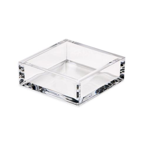 Galleria Riverside Exclusives  Caspari Napkins & Holders Acrylic Cocktail Napkins Holder $22.50
