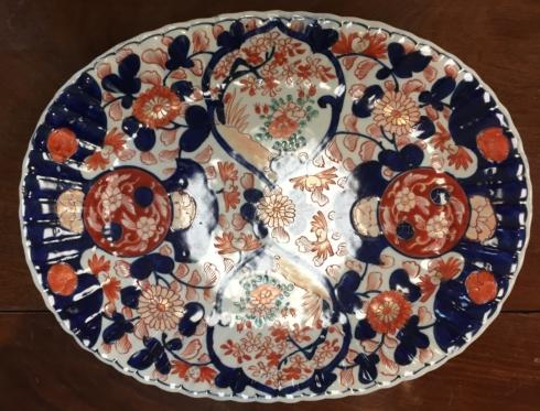 Galleria Riverside Exclusives  Wild Oak Antiques Antique Amari Medium Bowl $225.00