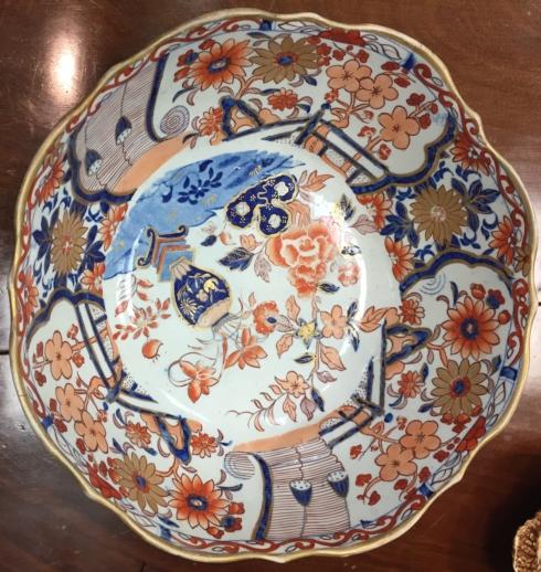 Galleria Riverside Exclusives  Wild Oak Antiques Large Amari Antique Bowl $225.00