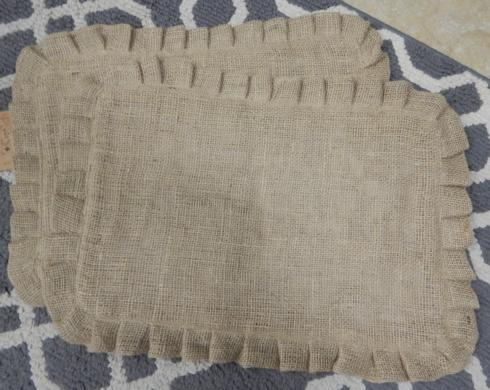 Galleria Riverside Exclusives   Burlap Place Mats $11.25