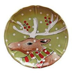Casafina Deer Individual Dinner Plate