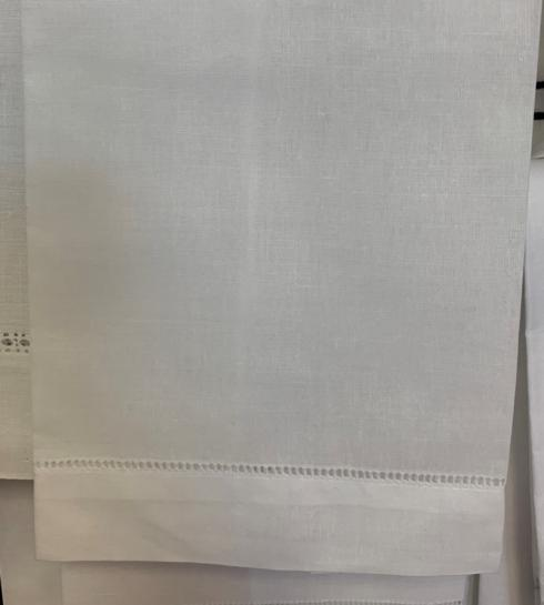 $6.50 White Handstitched Guest Towel