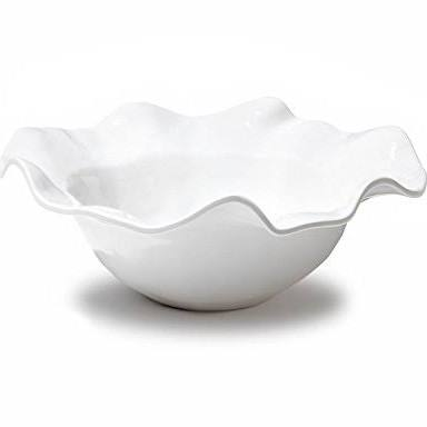 Galleria Riverside Exclusives  Beatriz Ball Melamine Beatriz Ball Havana Large Melamine Bowl in white $50.00
