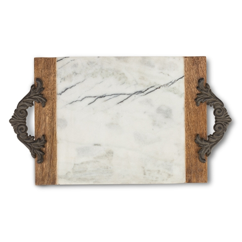 Gracious Goods   Large Marble Cutting/Serving Board/Tray $96.00