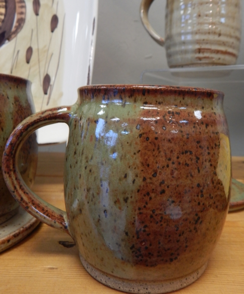 Galleria Riverside Exclusives  Mollie Jenkins Pottery Mollie Jenkins Pottery Mug $30.00