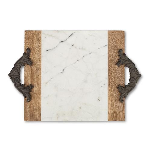 Gracious Goods   Medium Marble Tray $76.00