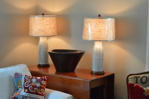 Galleria Riverside Exclusives  Mollie Jenkins Pottery MOLLIE JENKINS WHITE POTTERY LAMPS $750.00