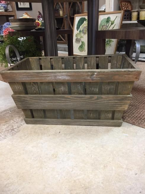 $90.00 Wooden Crate