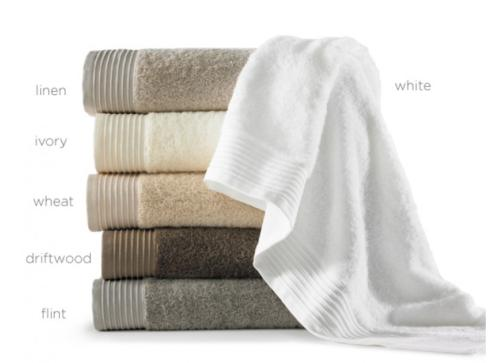Peacock Alley   Linen Bamboo Bath Towel $39.00