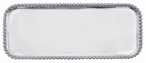 Mariposa   Pearled Long Platter $124.00