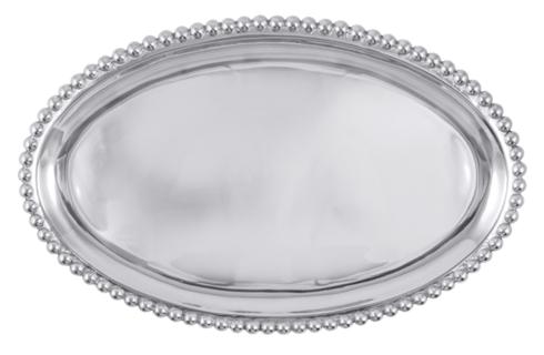 Mariposa   Pearled Oval Tray $98.00