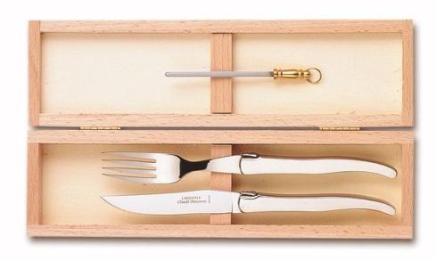 Claude Dozorme   Serving Knife & Fork $160.00