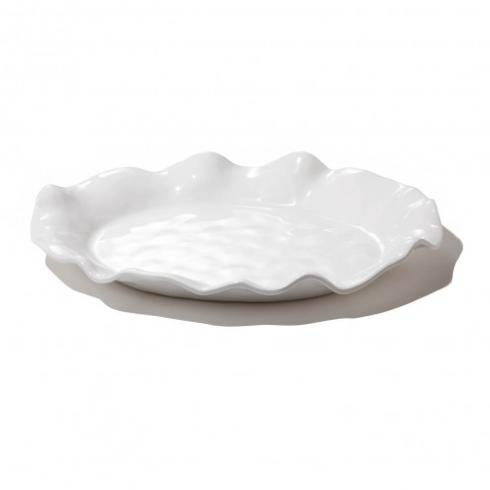 Galleria Riverside Exclusives  Beatriz Ball Melamine Beatriz Ball Havana White Oval Platter $50.00
