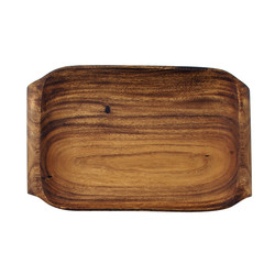 Pacific Merchants   Wood Serving Tray with Handles $34.95