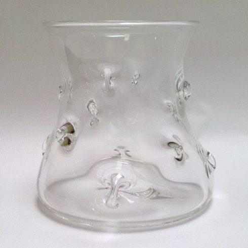 $225.00 Pineapple Vase Clear