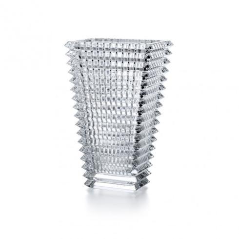 $620.00 Eye Vase Rectangular Small Clear
