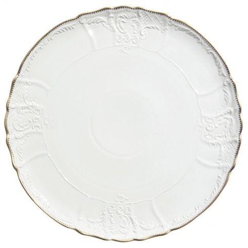 $120.00 Anna Weatherley: Simply Anna Gold Torte Plate