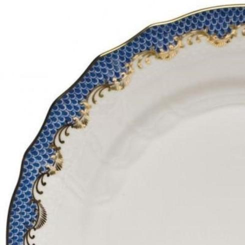 Goldsmith Cardel Exclusives Herend Imports Fish Scale Fish Scale - Blue: Sandwich Tray $1,028.50