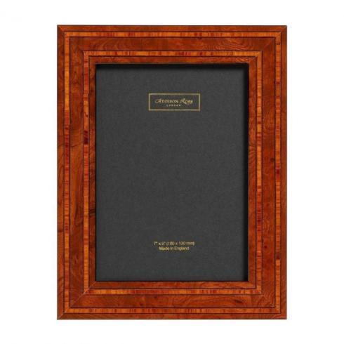 $96.75 Addison Ross: Double Contrast Black Fibre Frame 5x7