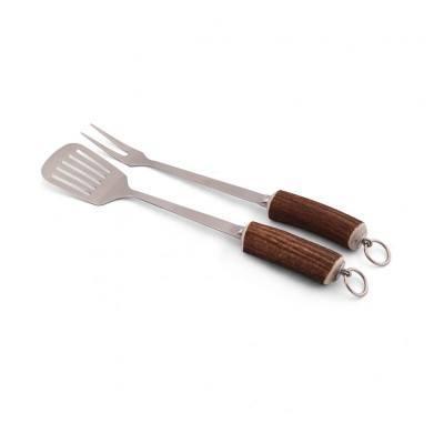 $151.00 Vagabond House: Antler Rustic BBQ Set